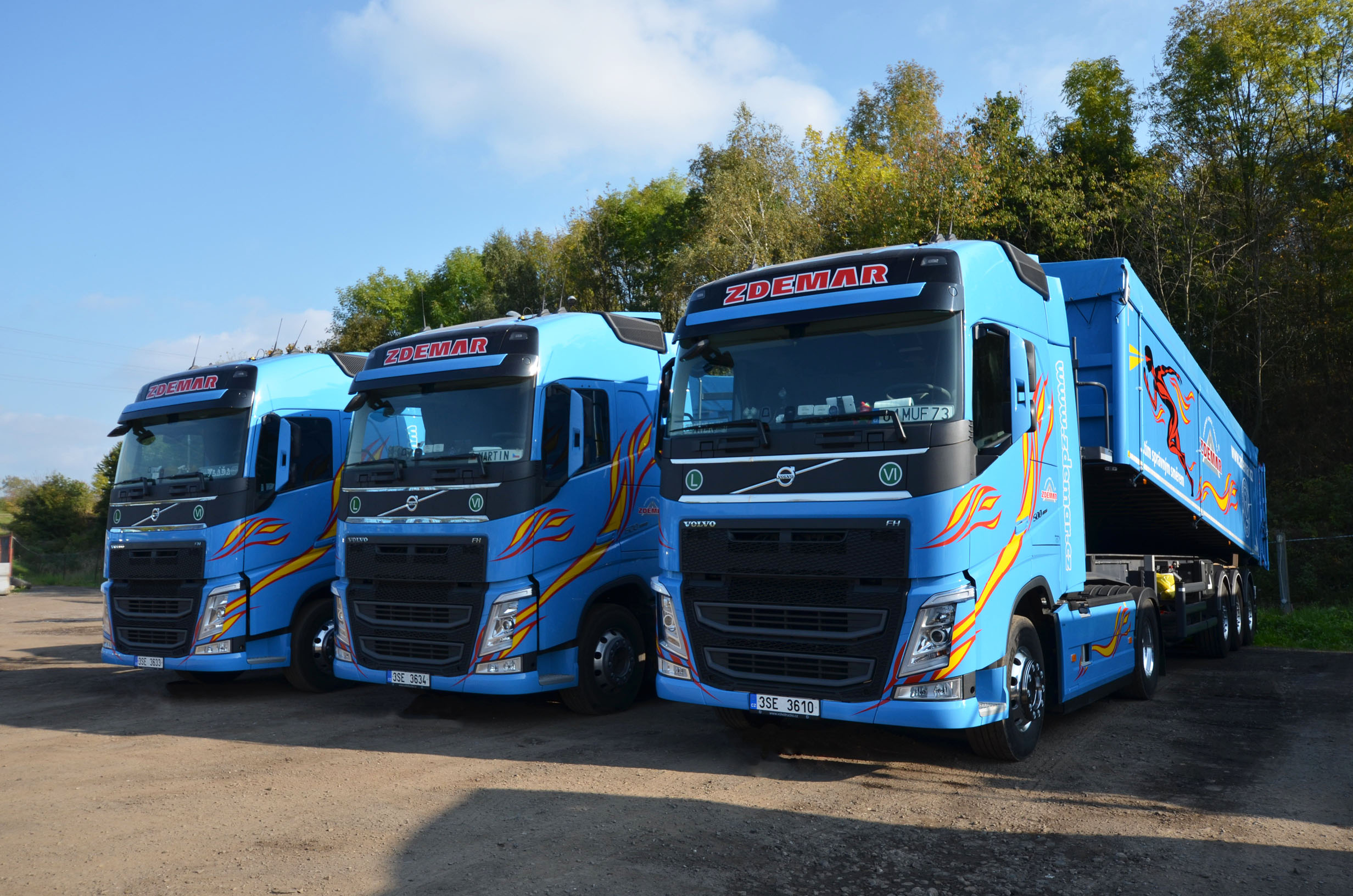 New DAF trucks